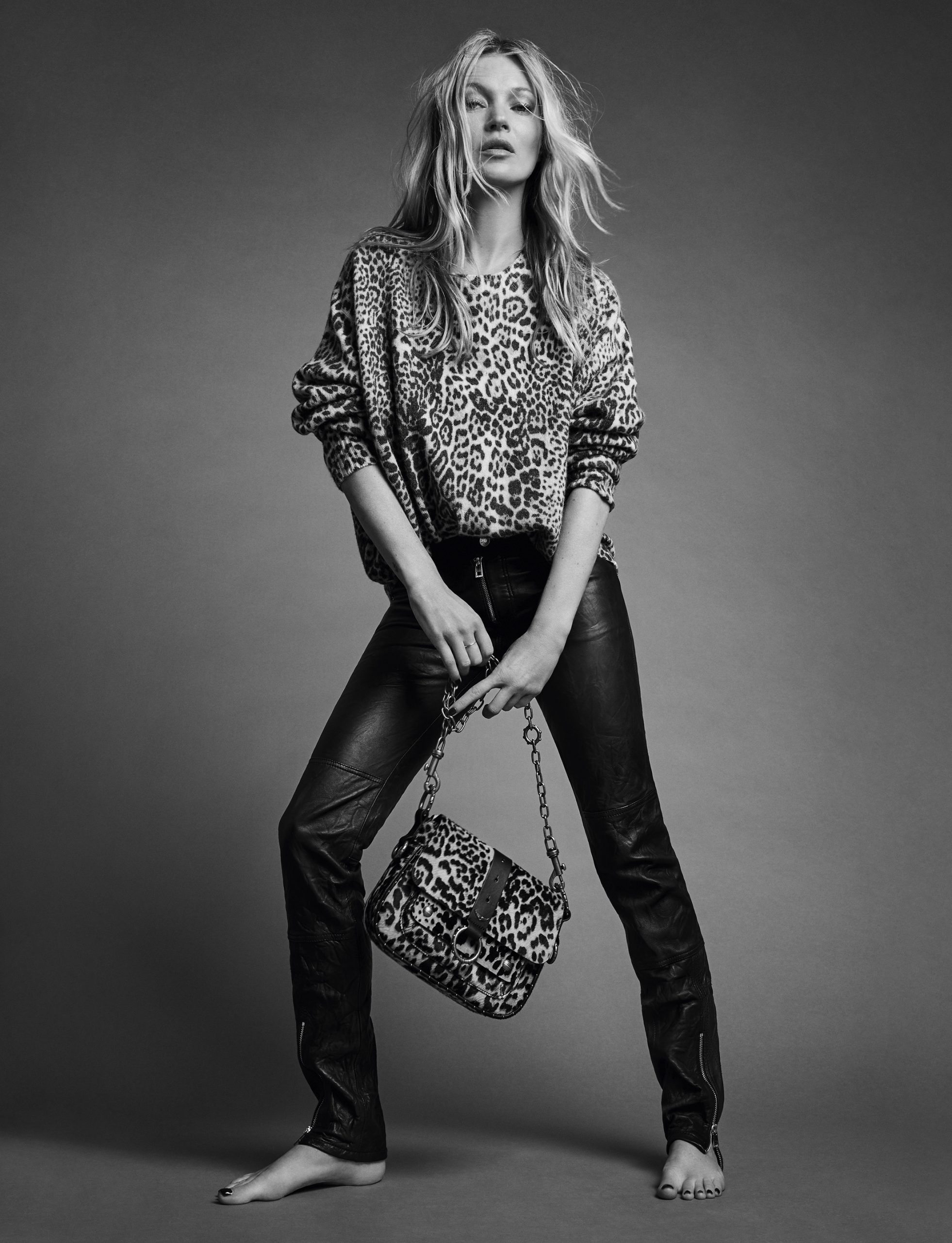 Zadig & Voltaire Spring 2020 Fashion Ad Campaign Kate Moss Photos