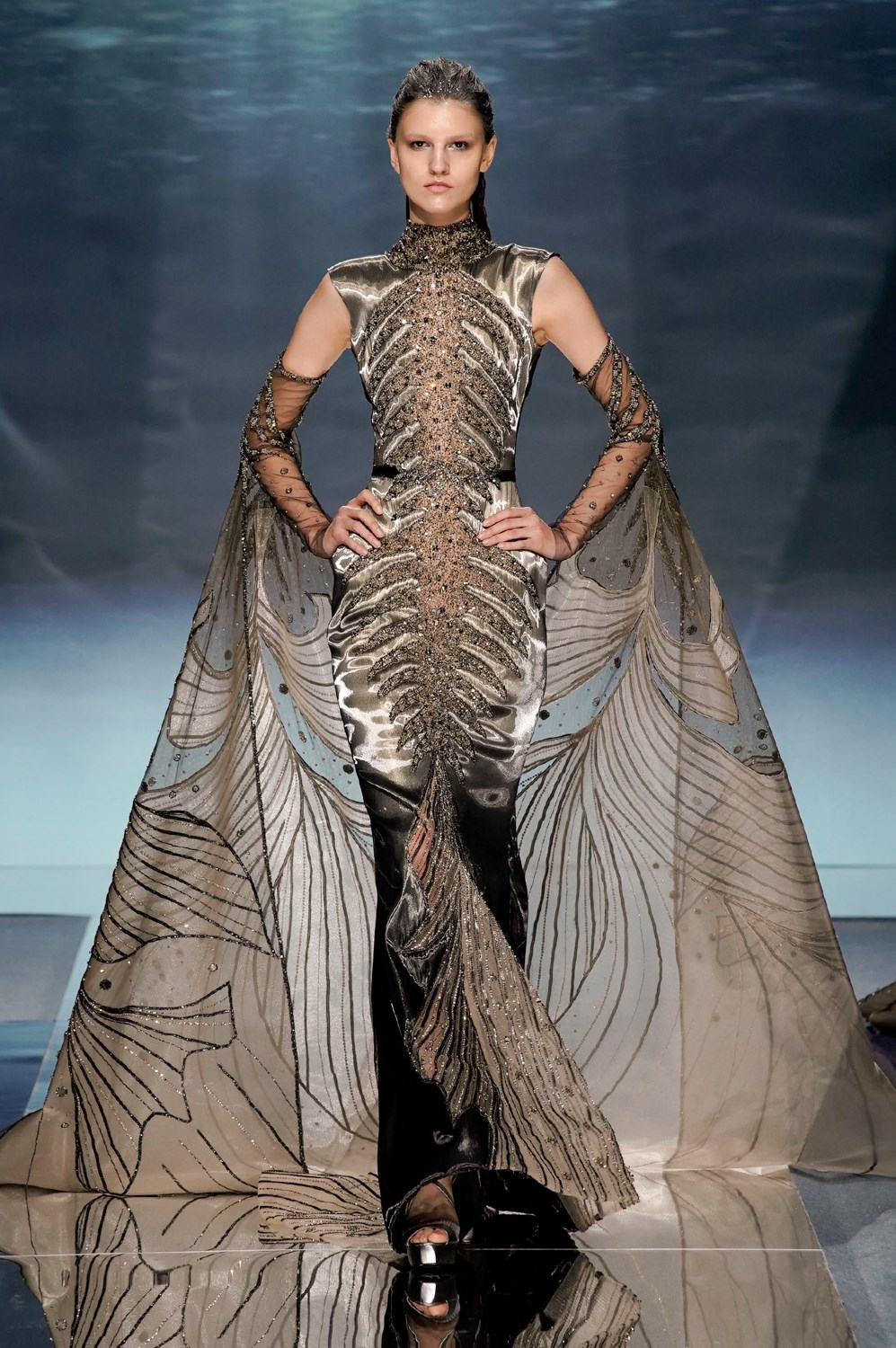 Ziad Nakad Spring 2020 Couture Fashion Show Photos