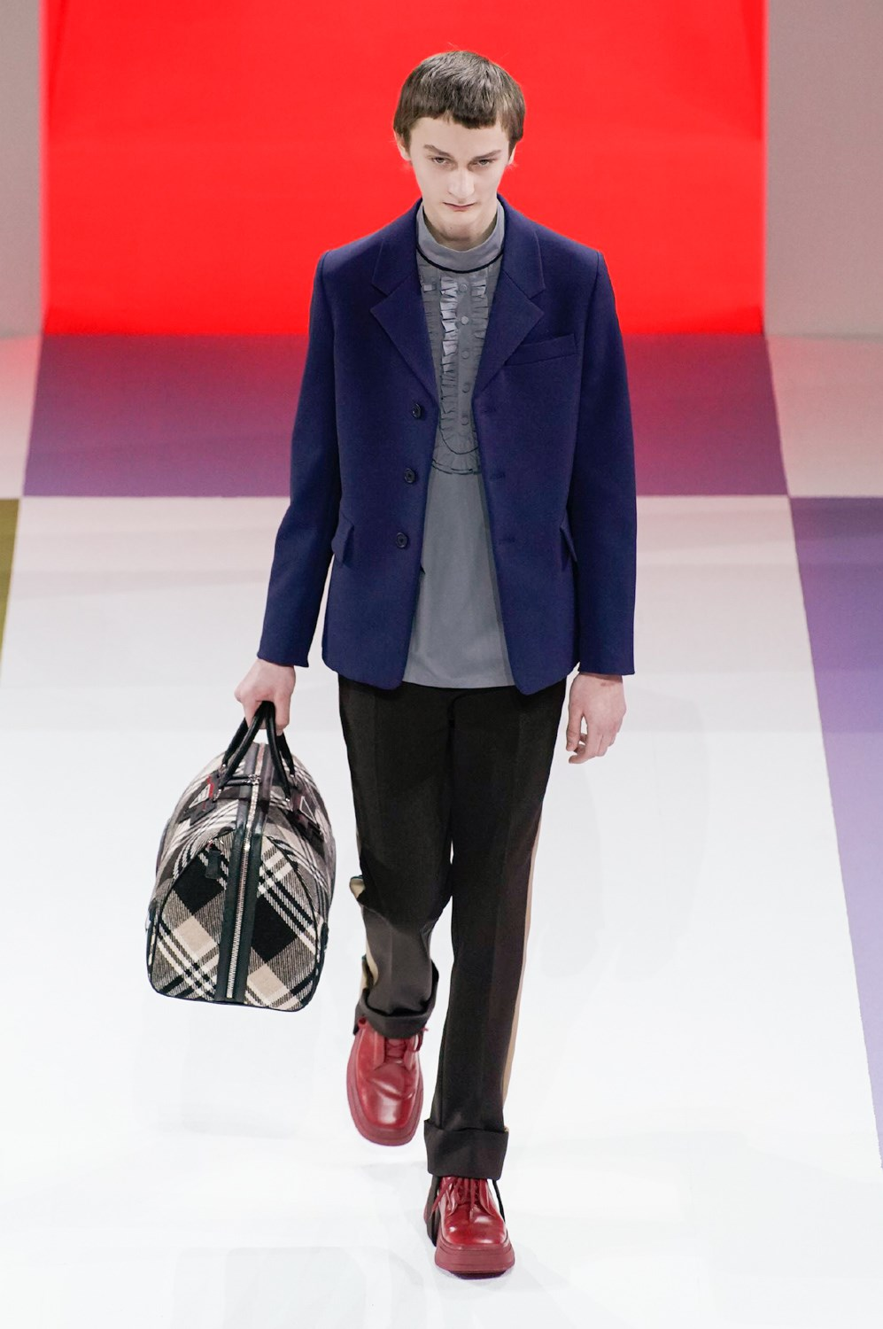 Prada Fall 2020 Men's Fashion Show Photos