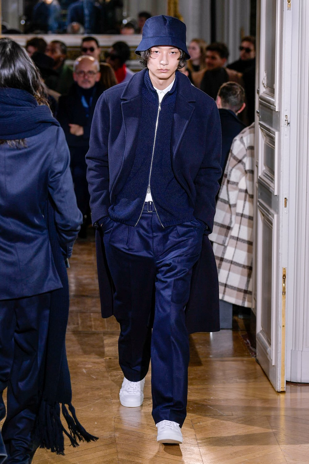 Officine Generale Fall 2020 Men's Fashion Show Photos