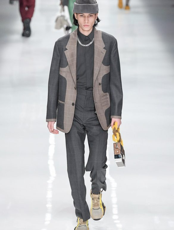 Fendi Fall 2020 Men's Fashion Show Photos