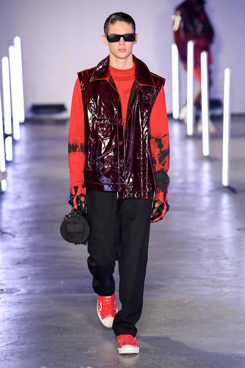 Feng Chen Wang Fall 2020 Men's Fashion Show Photos