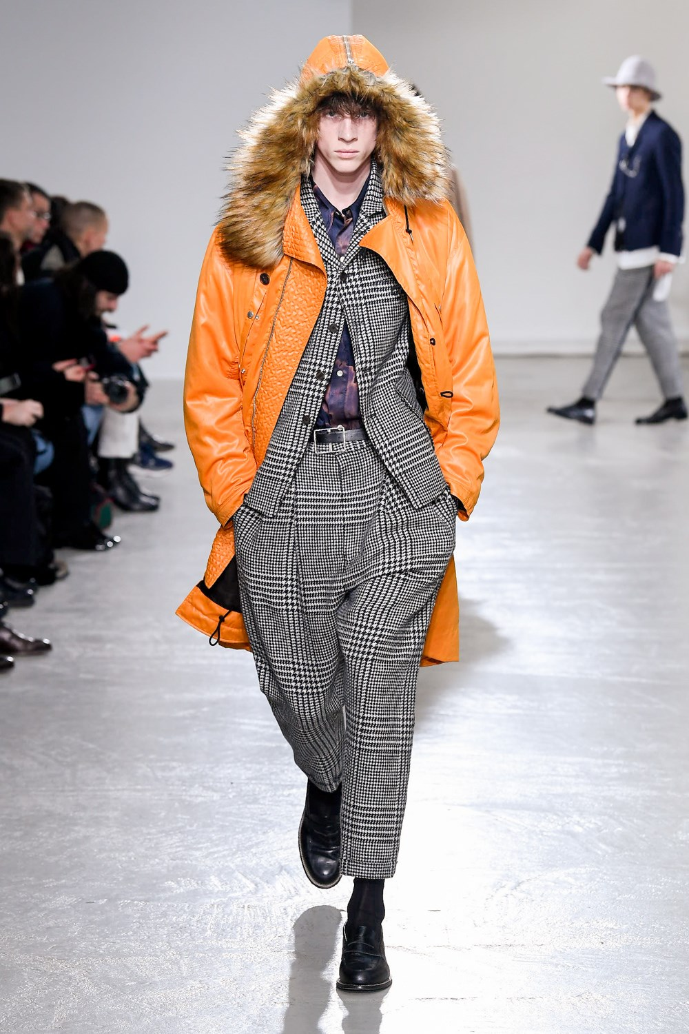 Bed J.w. Ford Fall 2020 Men's Fashion Show Photos