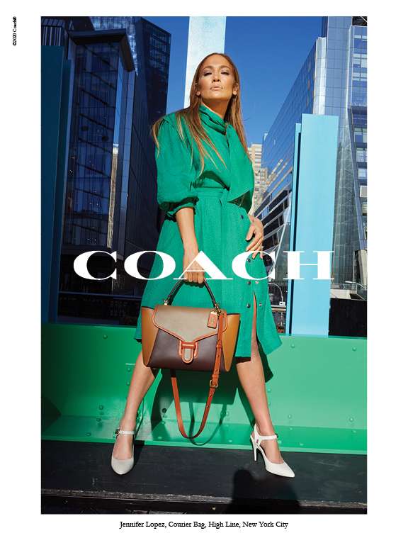 Coach Spring 2020 Fashion Ad Campaign Jennifer Lopez Photos