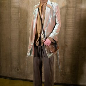 Ann Demeulemeester Fall 2020 Men's Fashion Show Backstage