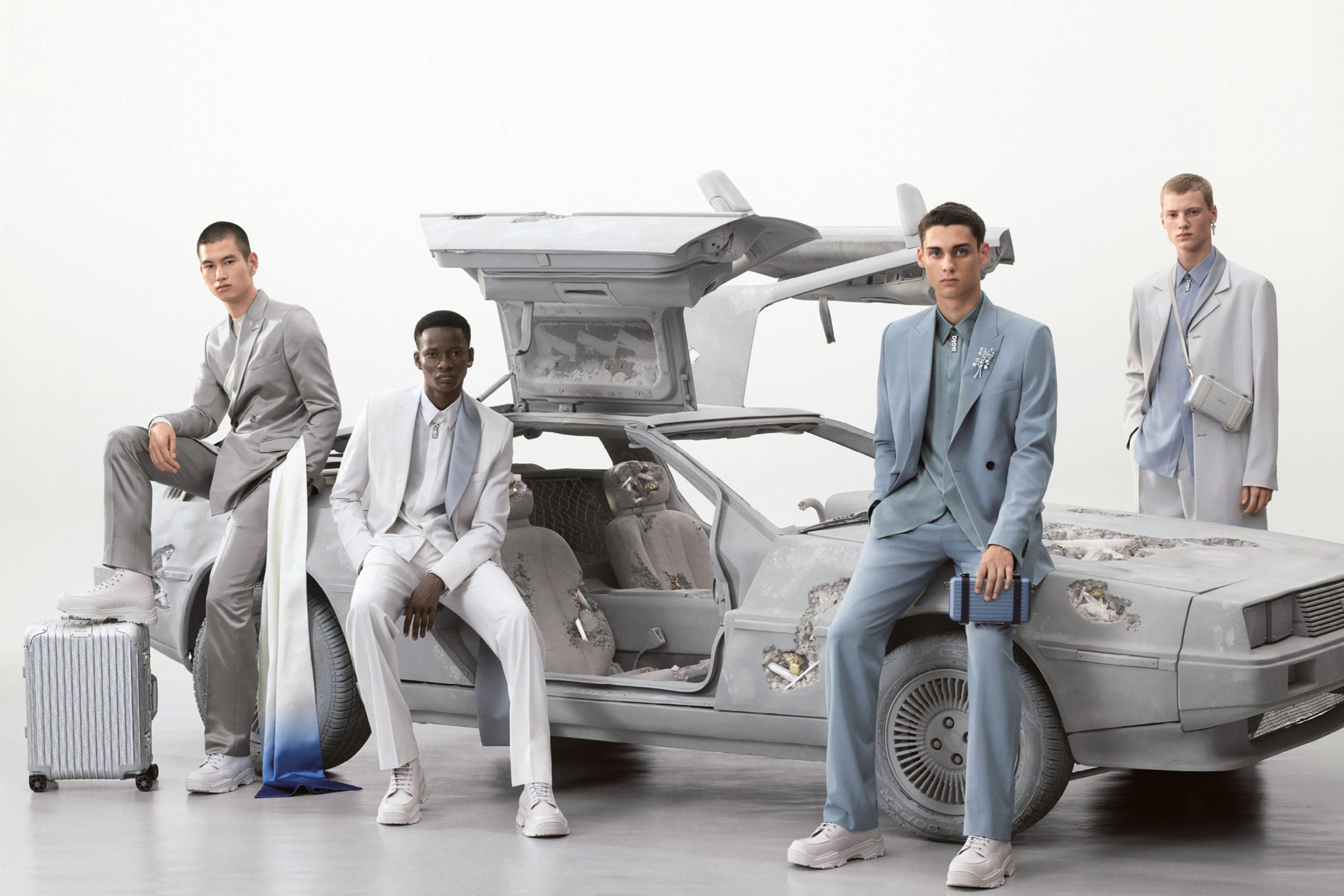 Dior Men's Spring 2020 Fashion Ad Campaign Photos
