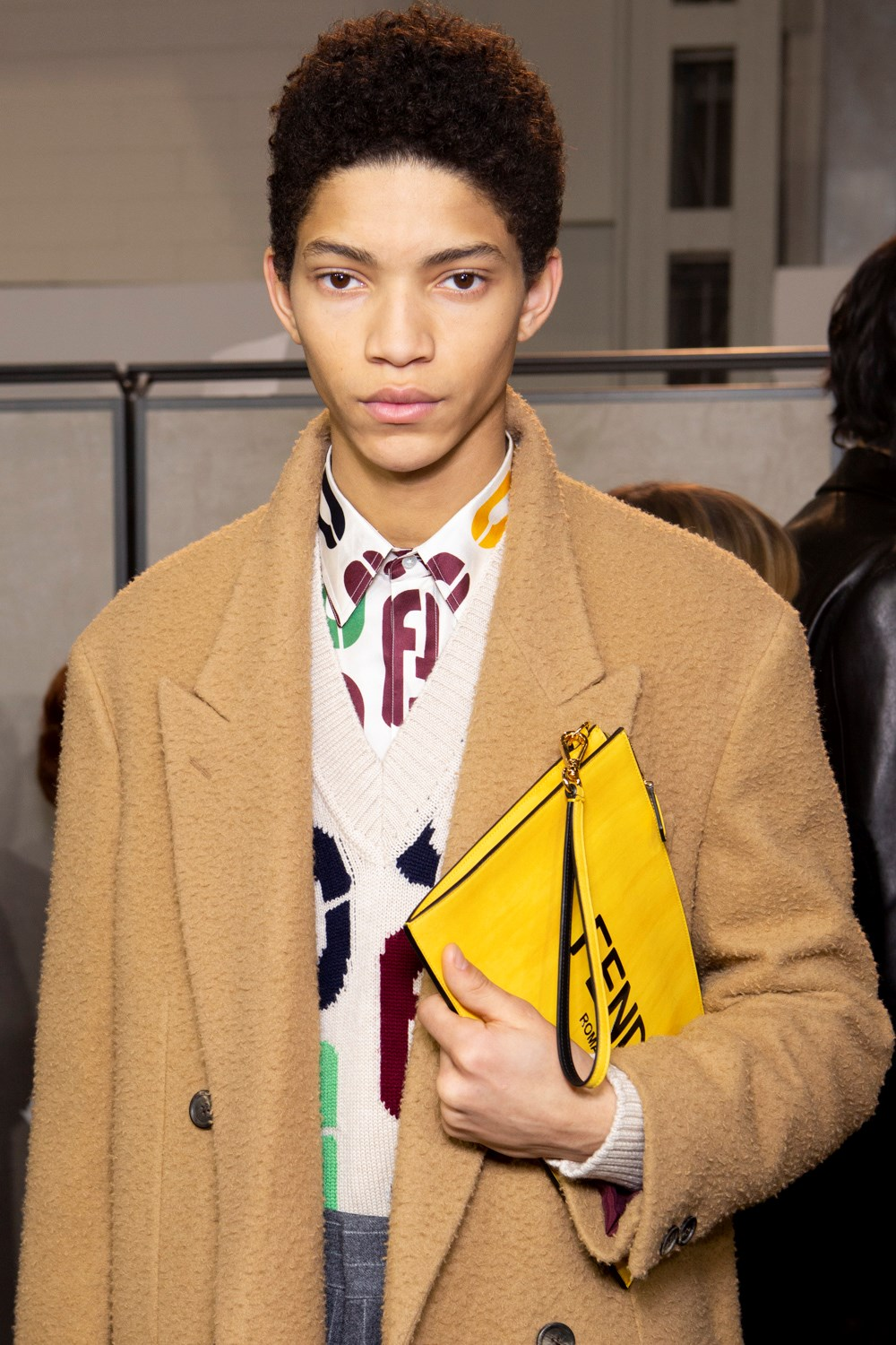 Fendi Fall 2020 Men's Fashion Show Backstage