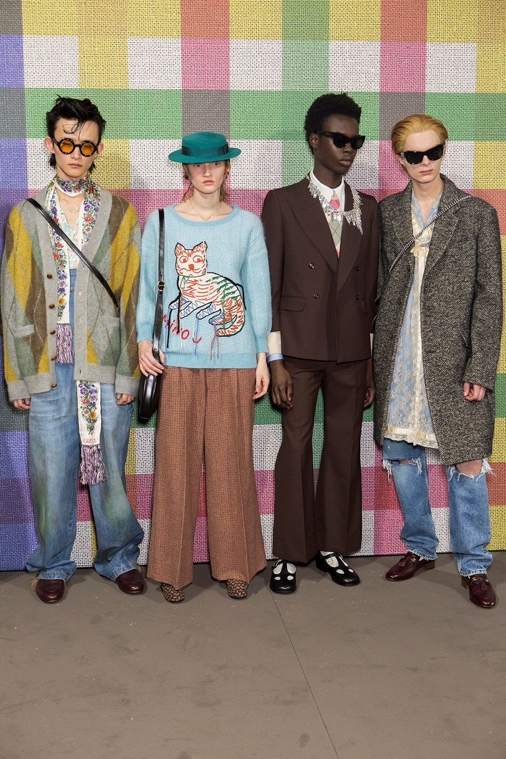 Gucci Fall 2020 Men's Fashion Show Backstage