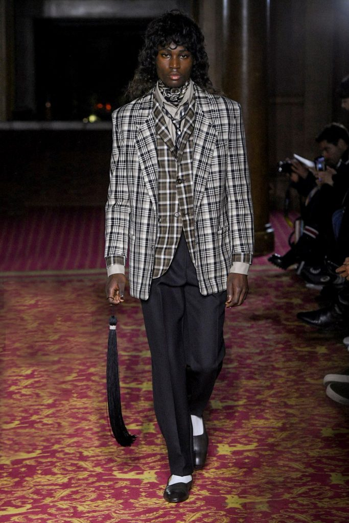 Edward Crutchley Fall 2020 Men's Fashion Show