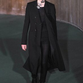 Ann Demeulemeester Fall 2020 Men's Fashion Show Film