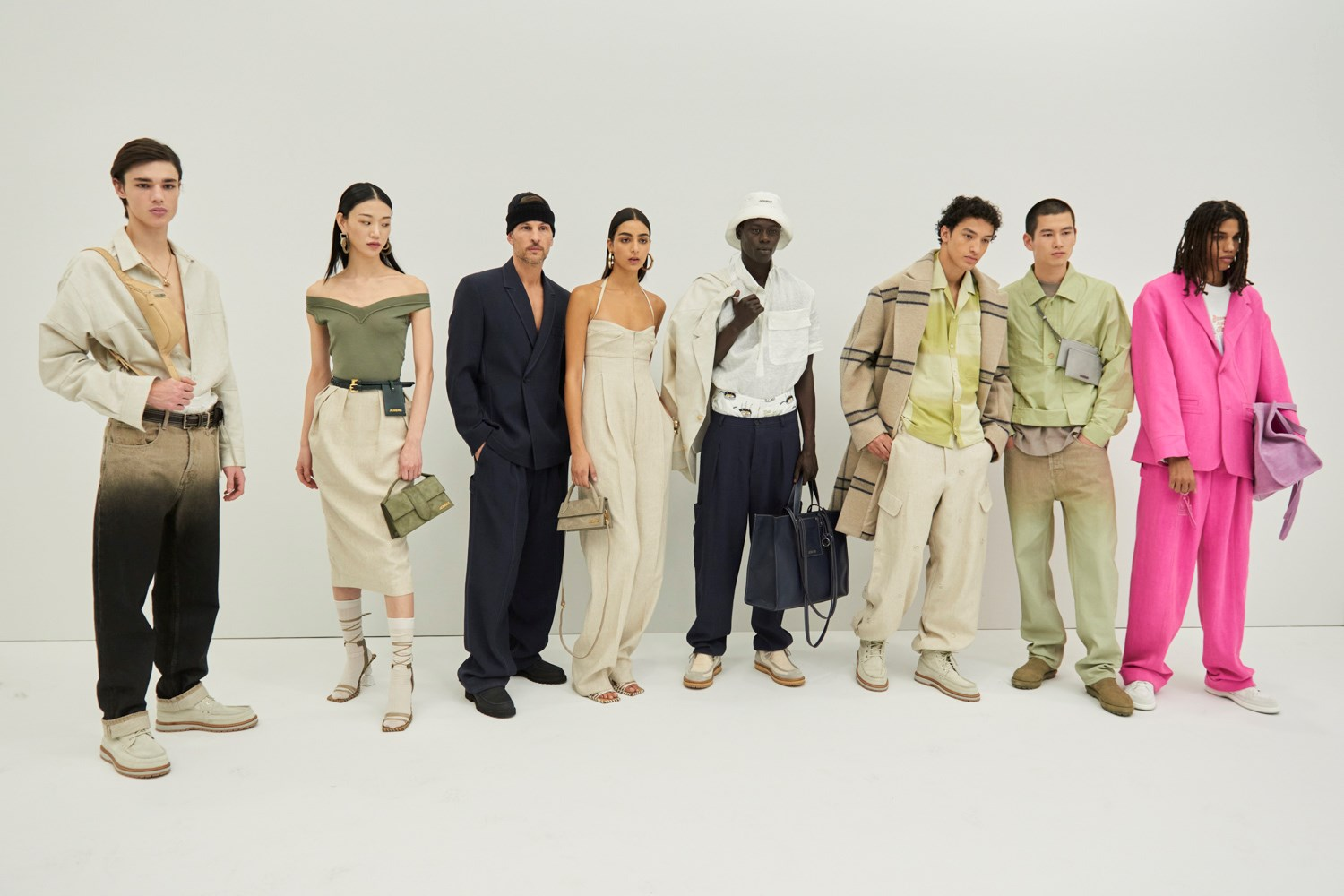 Jacquemus Fall 2020 Men's Fashion Show Photos