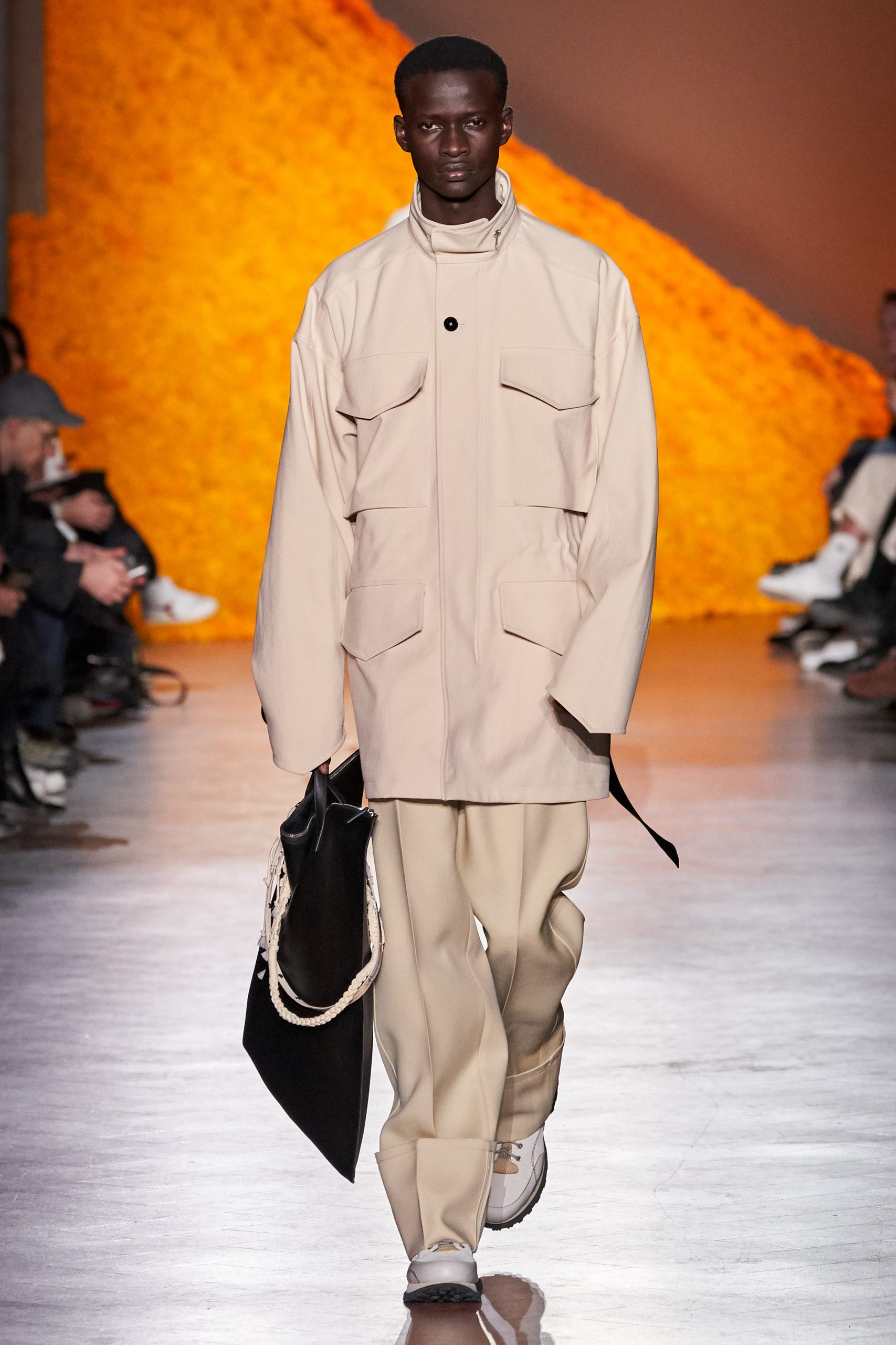 Jil Sander Men's, Telfar, Stefano Pilates for Random Identities Fall 2020 Fashion Show Review