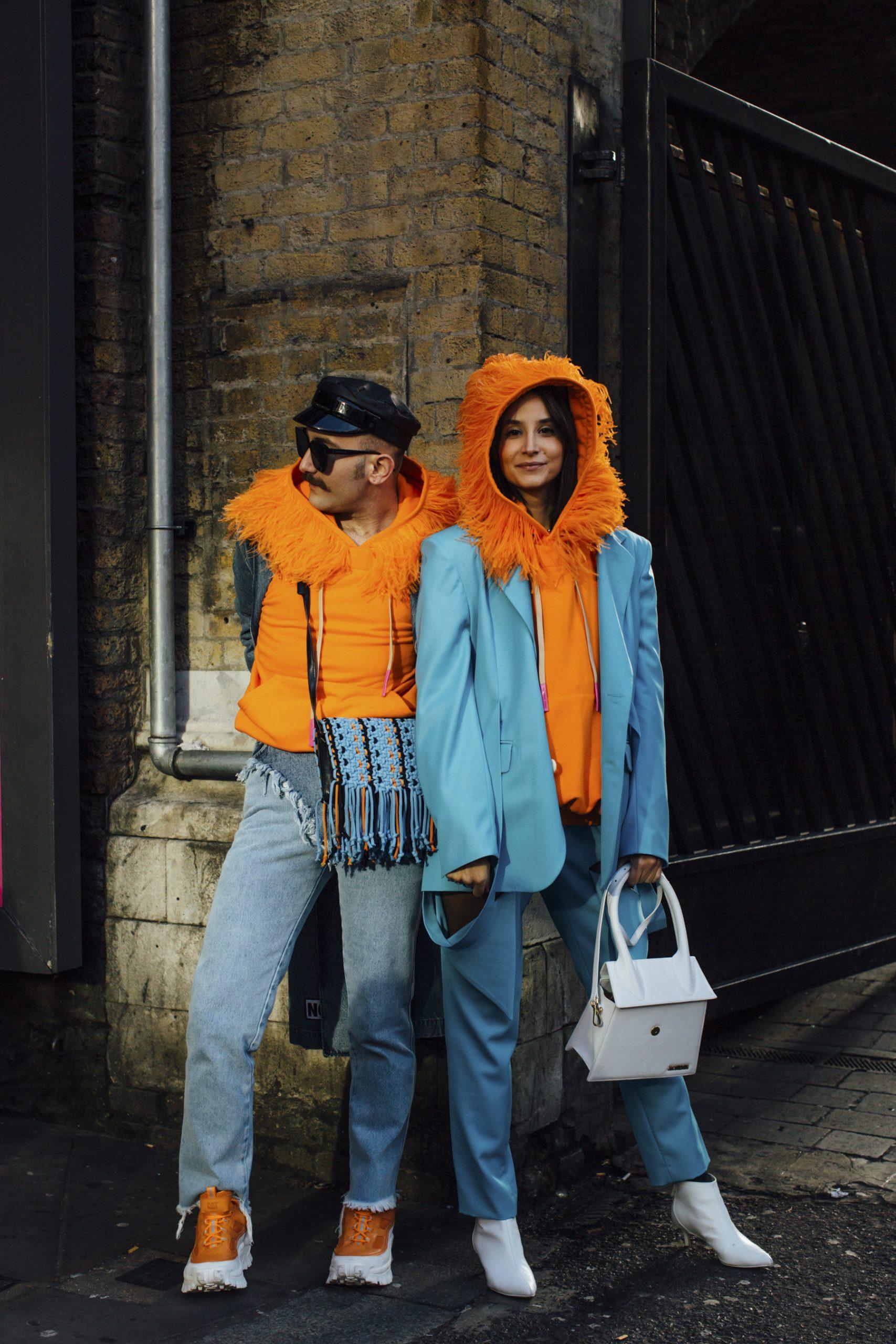 London Men's Street Style Fall 2020 Day