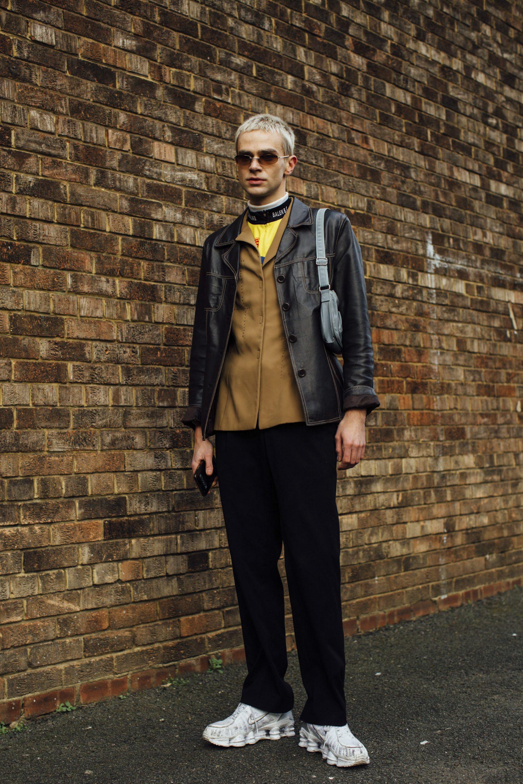 London Men's Fashion Week Street Style Photos 2020