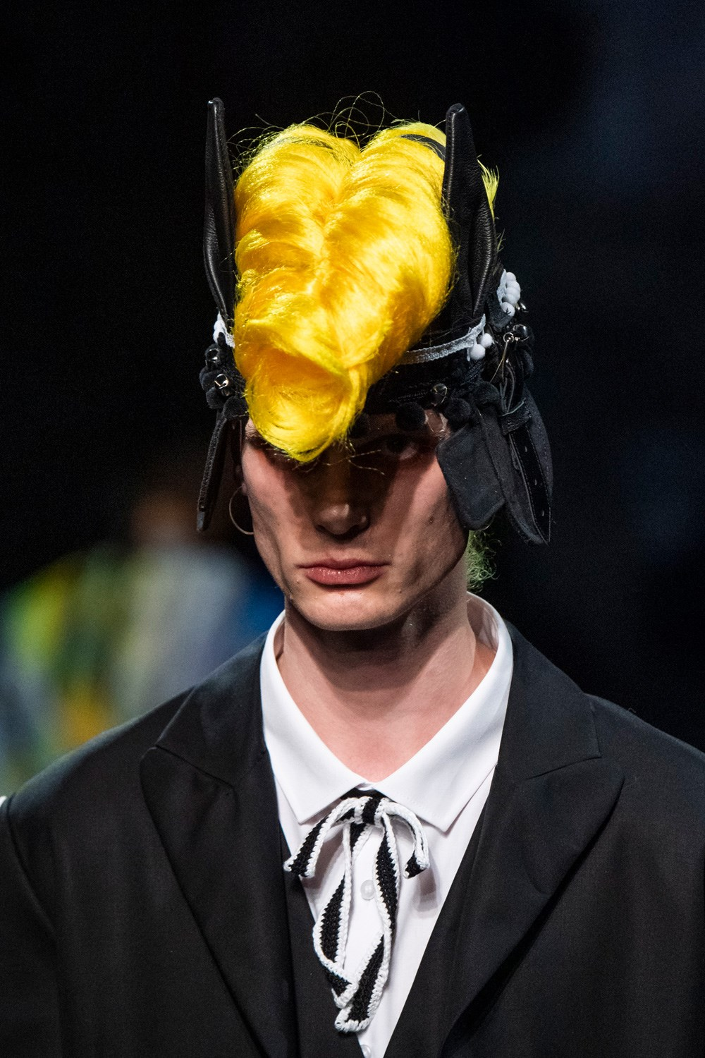 Charles Jeffrey Loverboy Fall 2020 Men's Fashion Show Accessory Photos