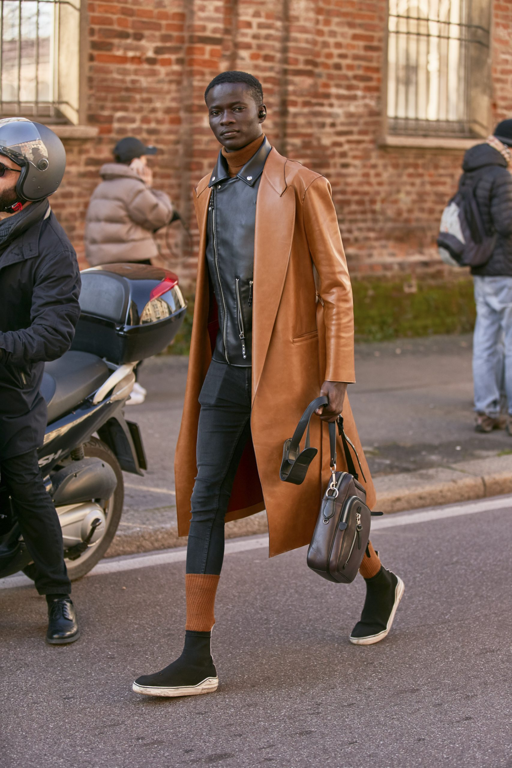 Milan Men's Street Style Fall 2020 Day