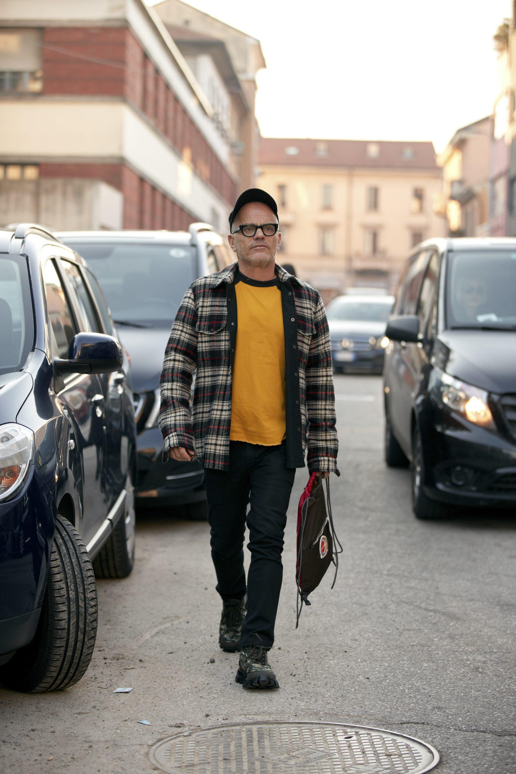 Milan Men's Fashion Week Street Style Photos 2020