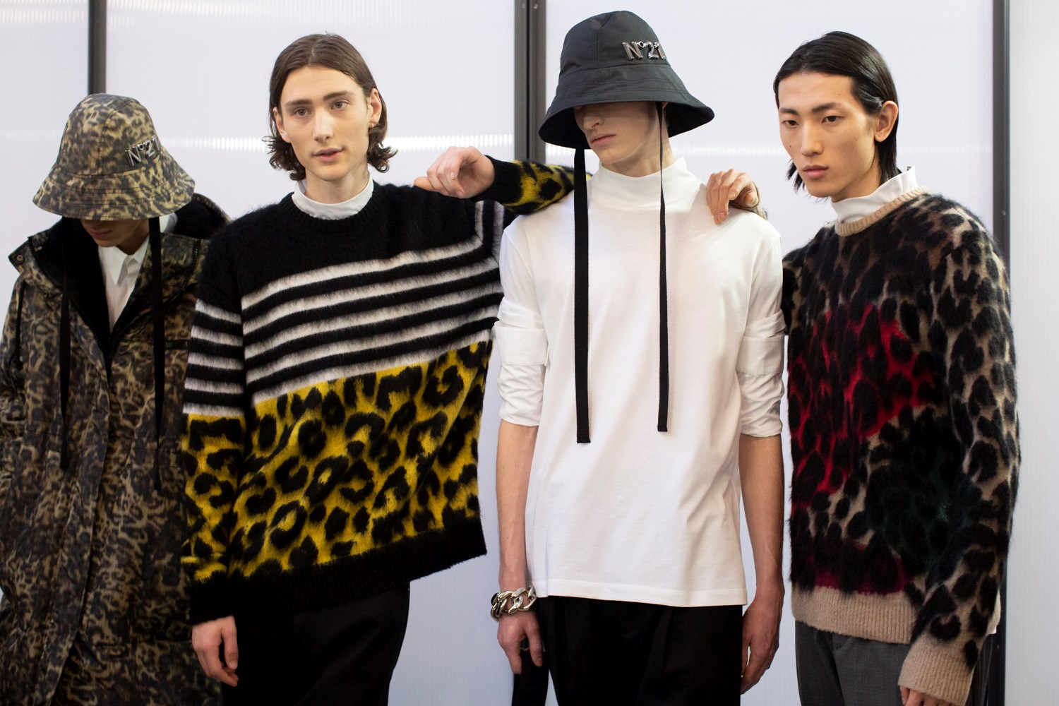 N 21 Fall 2020 Men's Fashion Show Photos