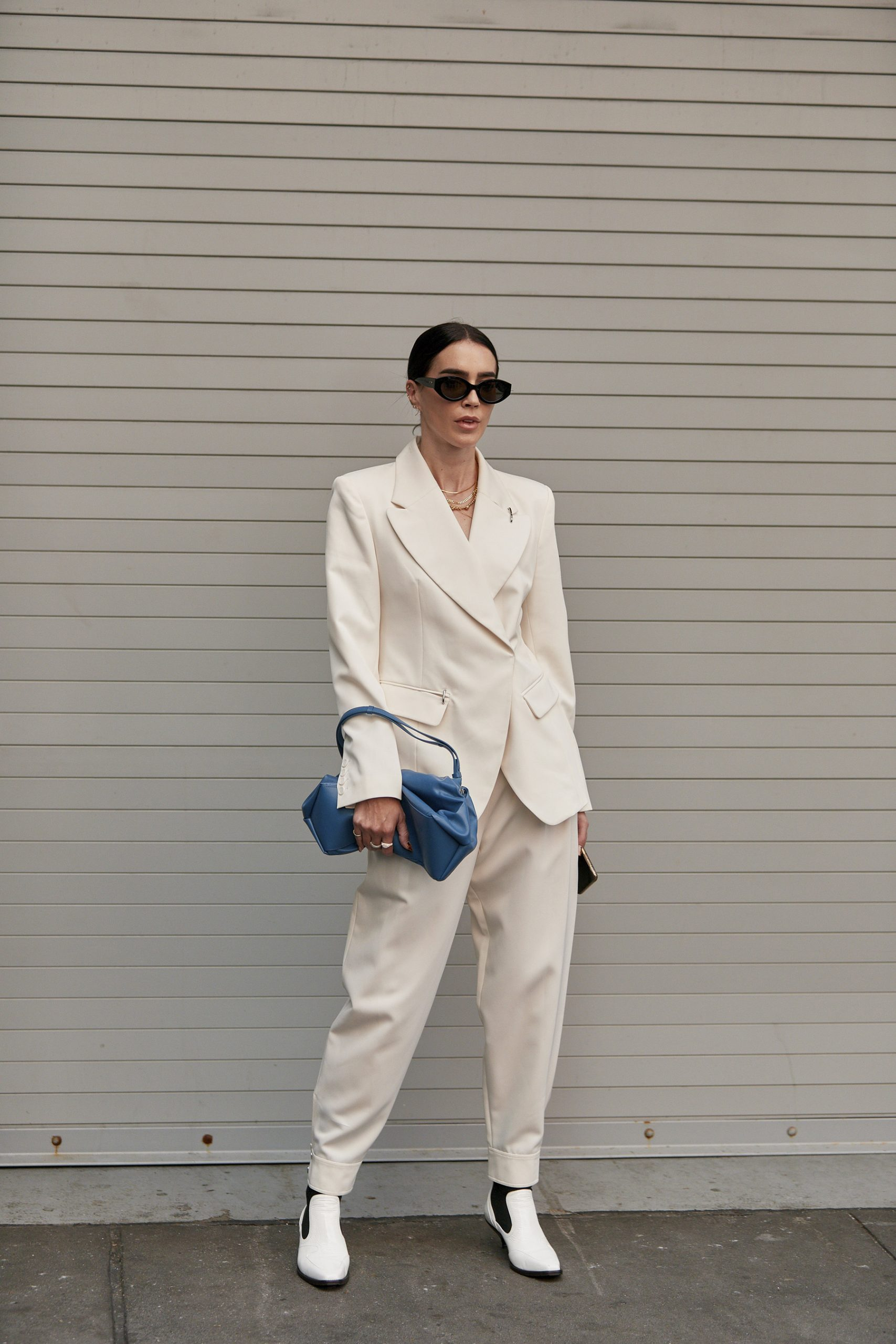 Spring 2020 Fashion Street Trend - Shades of White