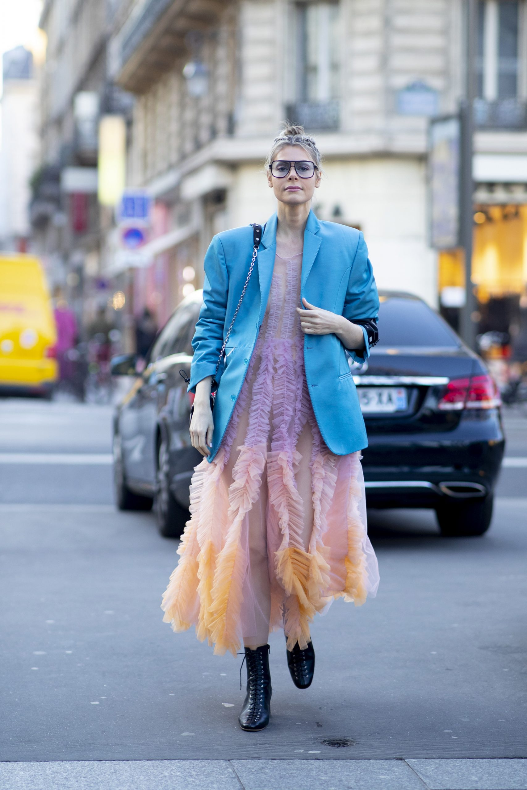 Paris Couture Fashion Week Street Style Photos 2020