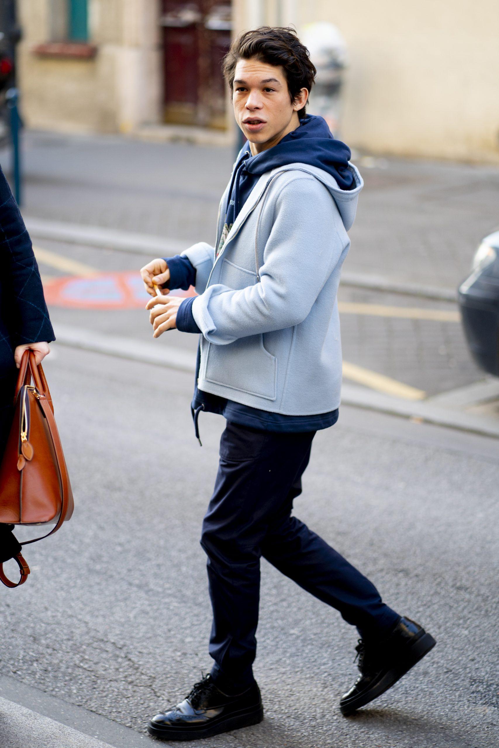 Paris Men's Street Style Fall 2020 Day