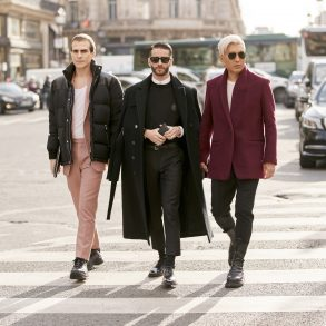 Paris Men's Street Style Fall 2020 Day