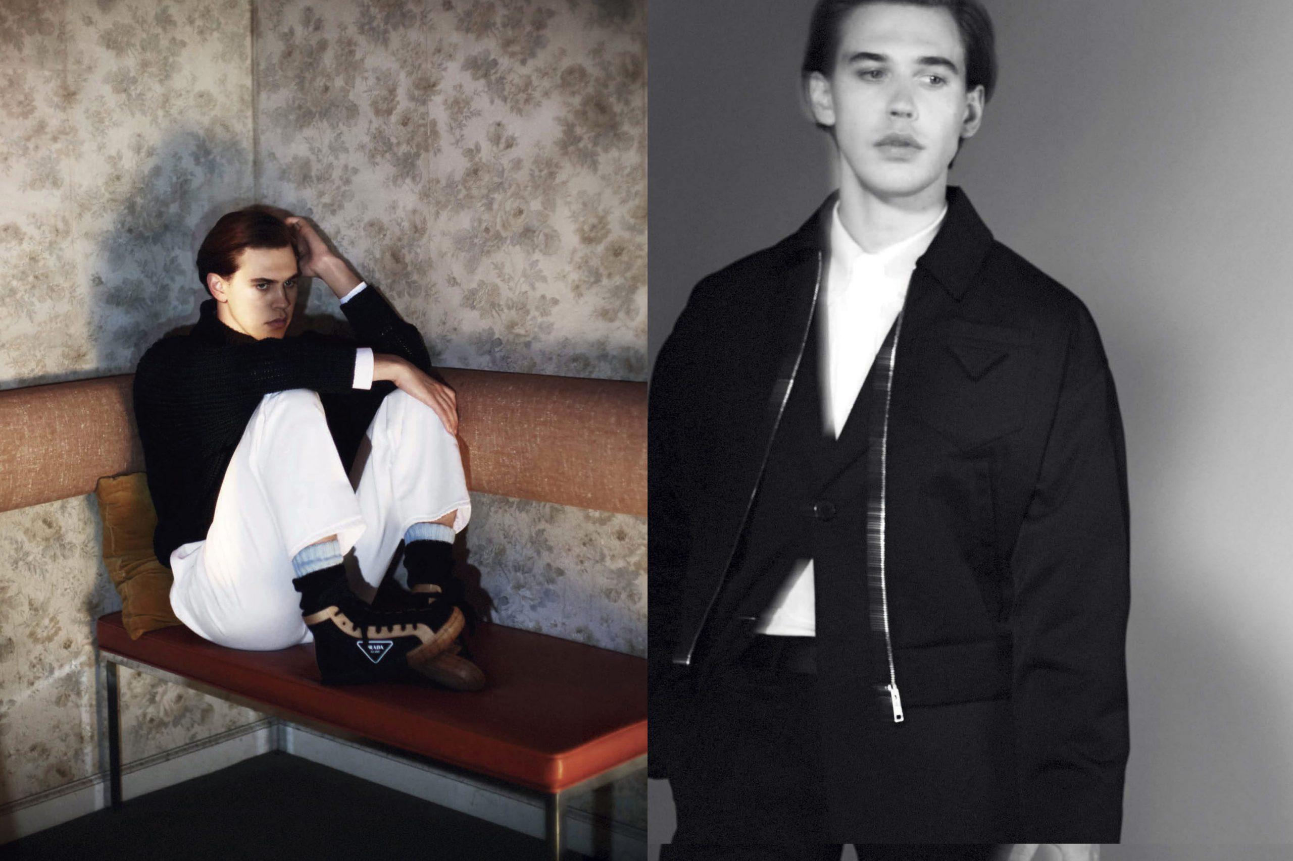 Prada Spring 2020 Men's Fashion Ad Campaign Photos