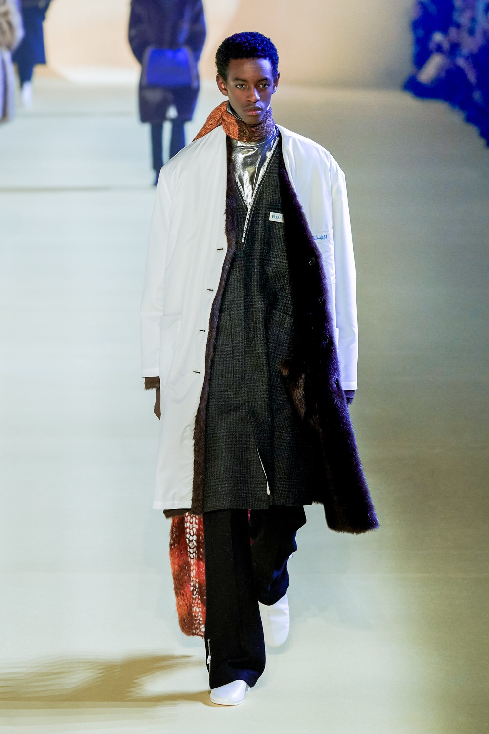 Raf Simons Fall 2020 Men's Fashion Show Photos