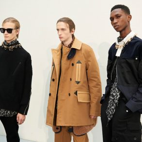 Sacai & Bode Fall 2020 Men's Fashion Show Review
