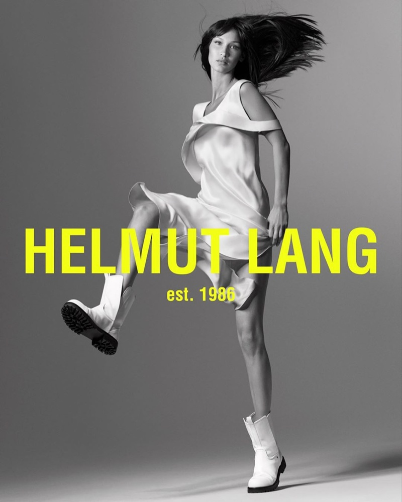 Helmut Lang Spring 2020 Fashion Ad Campaign Photos