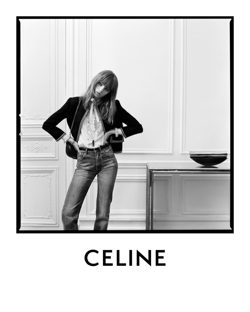 Celine Spring 2020 Fashion Ad Campaign Photos