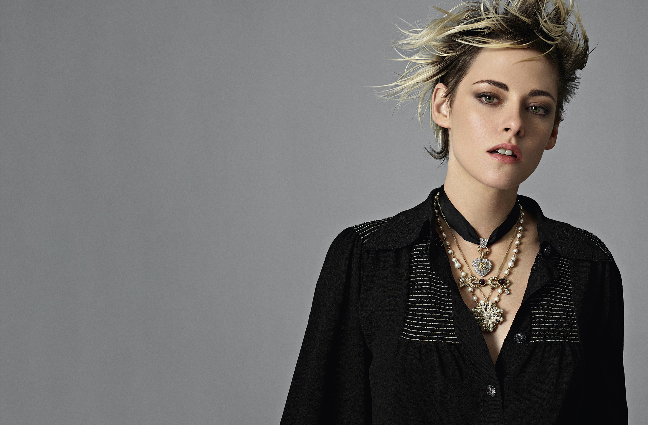 Chanel Spring 2020 Fashion Ad Campaign with Kristen Stewart Photos