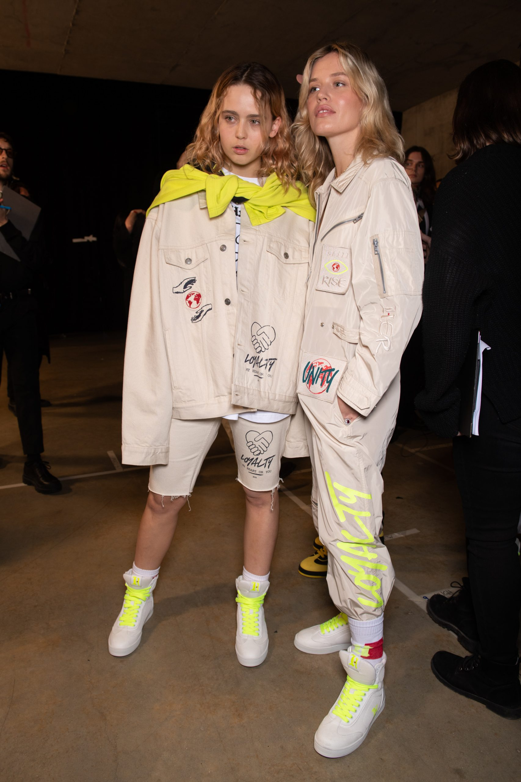 TommyNow Spring 2020 Fashion Show Backstage Photos