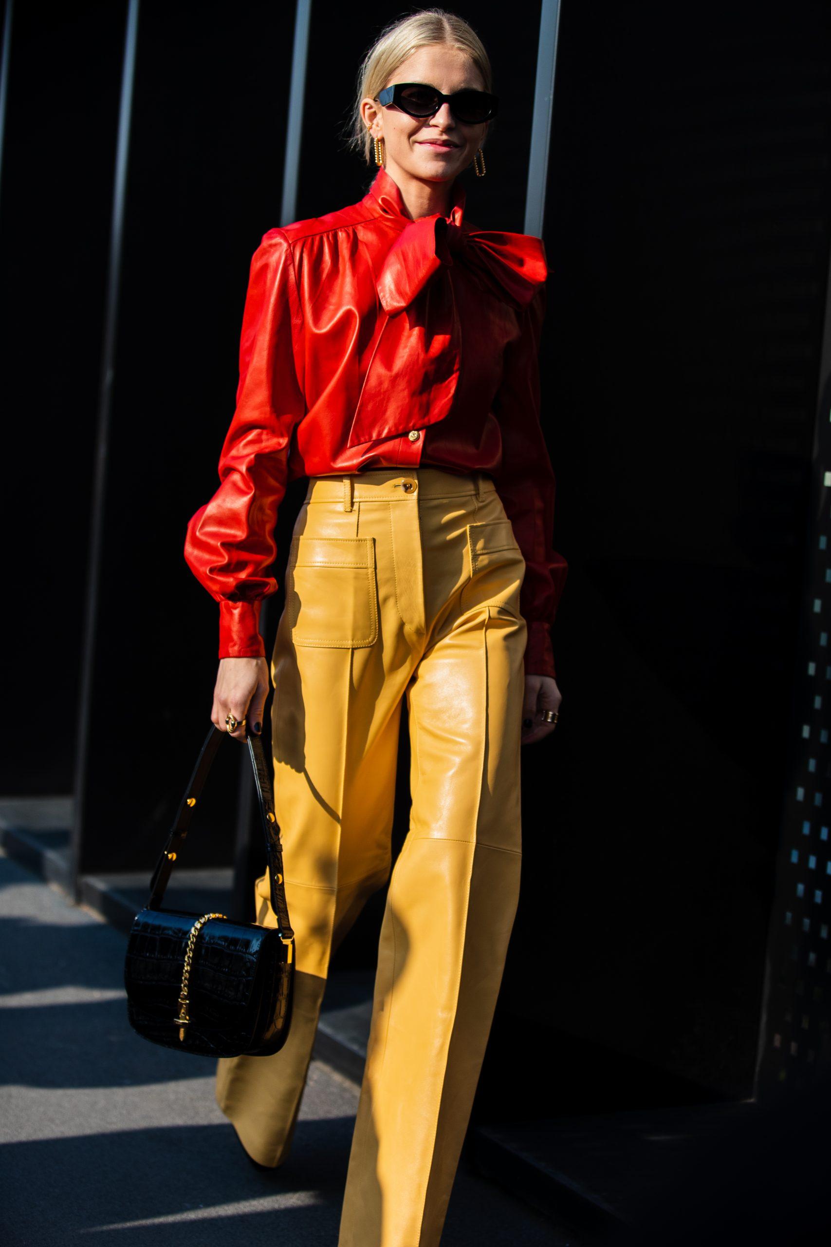 Milan Fashion Week Street Style Photos by Nick Leuze