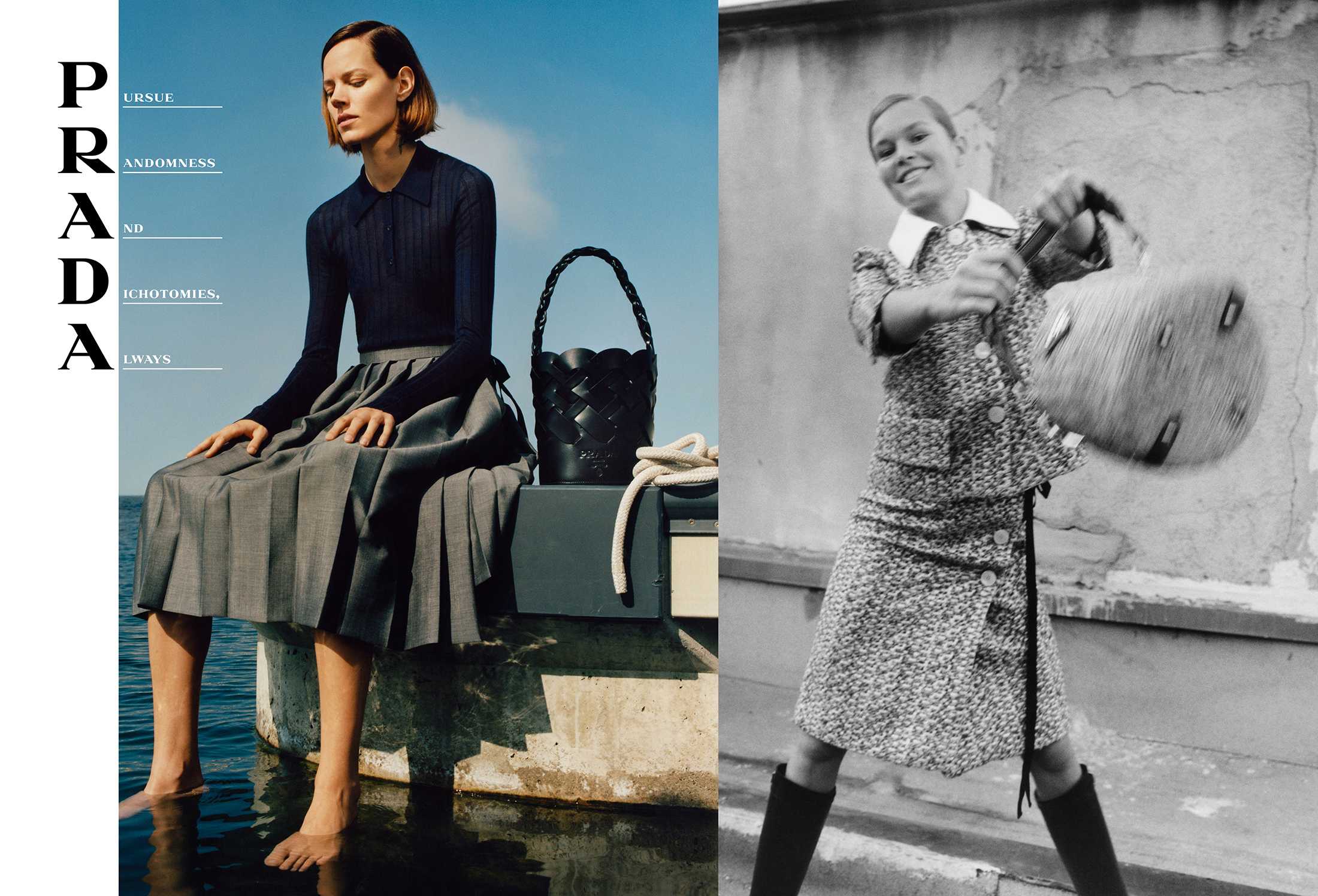 Prada Spring 2020 Fashion Ad Campaign Photos