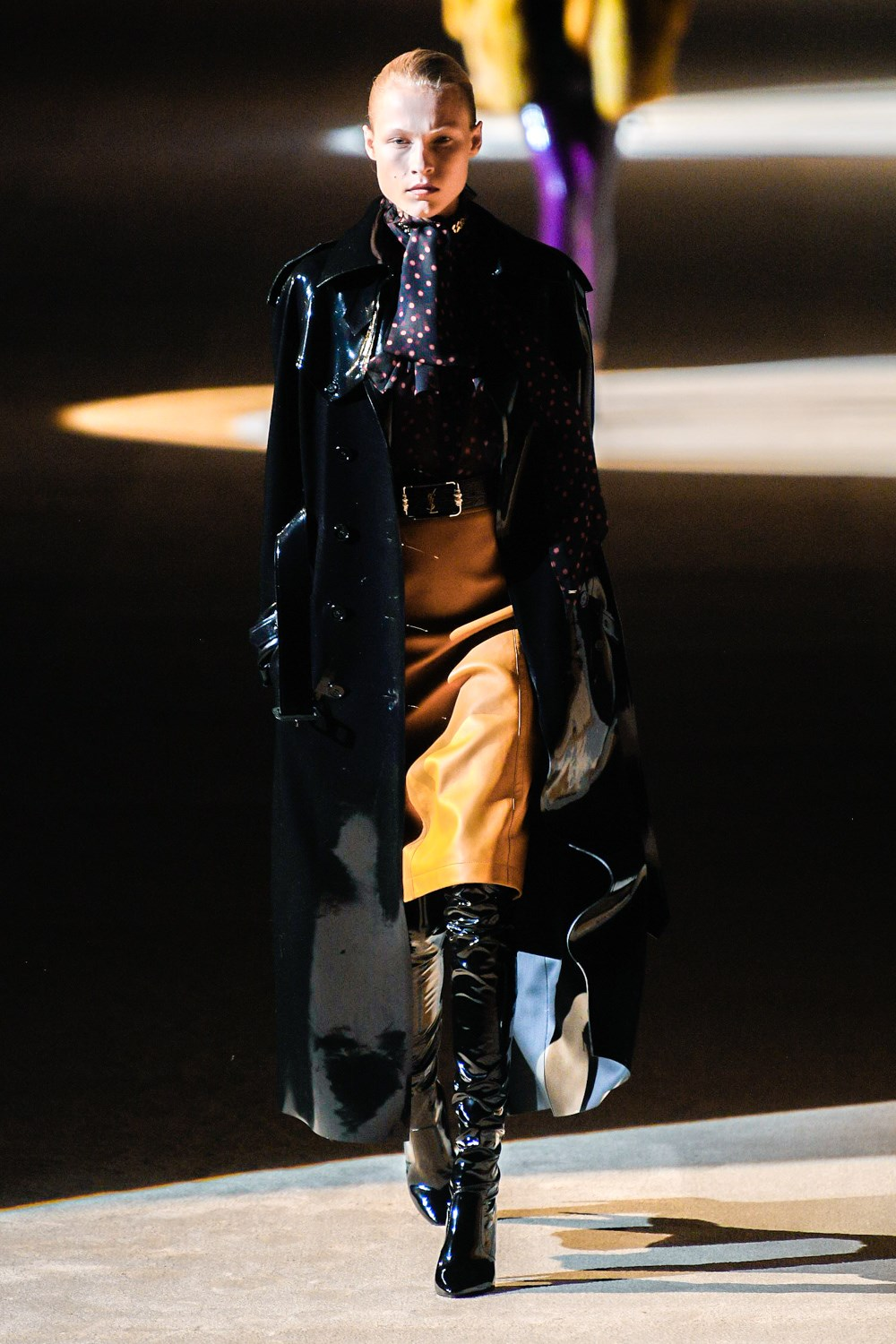 Saint Laurent Fall 2020 Fashion Show Photos