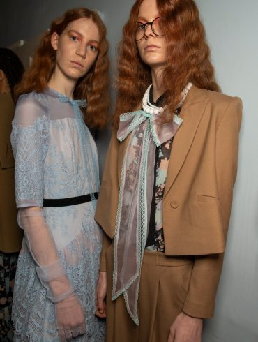 Bora Aksu Fall 2020 Fashion Show Backstage