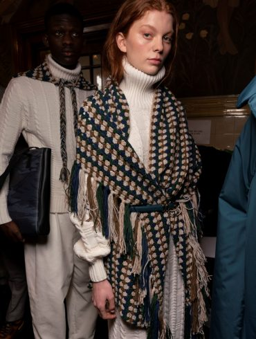 Daks Fall 2020 Fashion Show Backstage