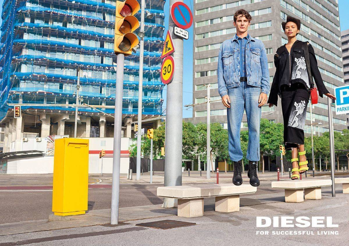 Diesel Spring 2020 Fashion Ad Campaign Photos