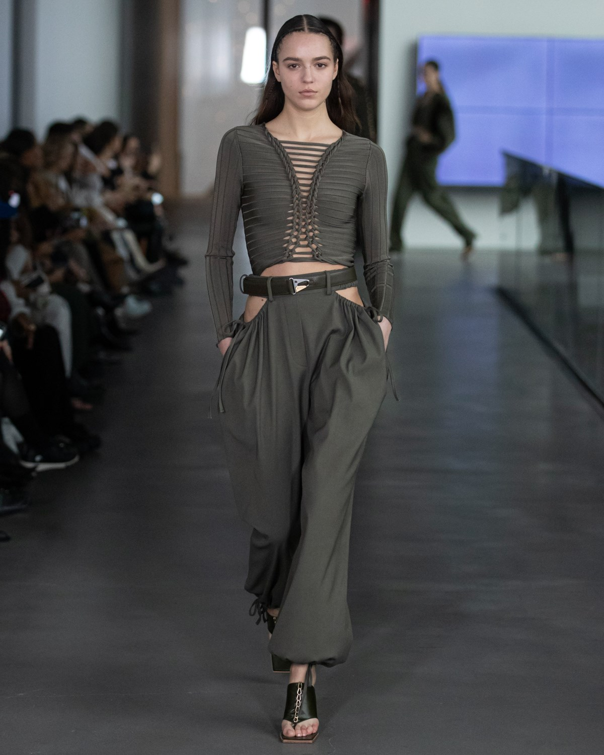 Loden Green Fall 2020 Fashion Trend Photos