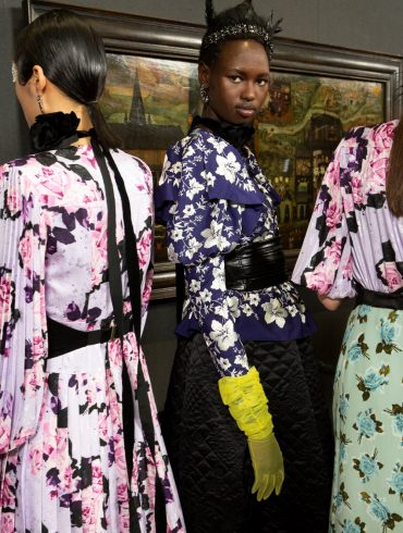 Erdem Fall 2020 Fashion Show Backstage