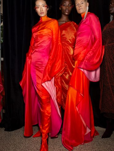 Paula Knorr Fall 2020 Fashion Show Backstage