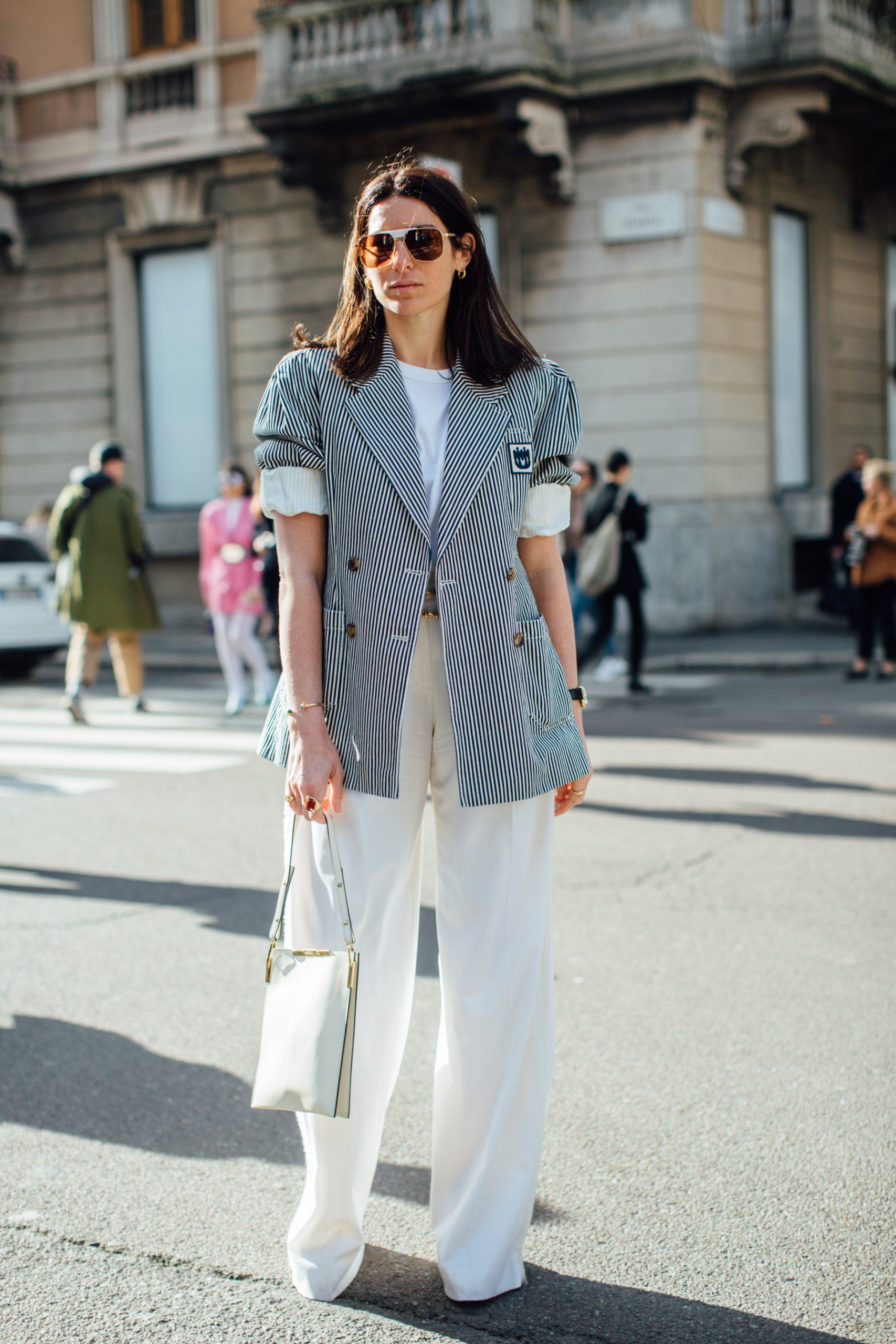 Milan Fashion Week Fall 2020 Street Style Photos