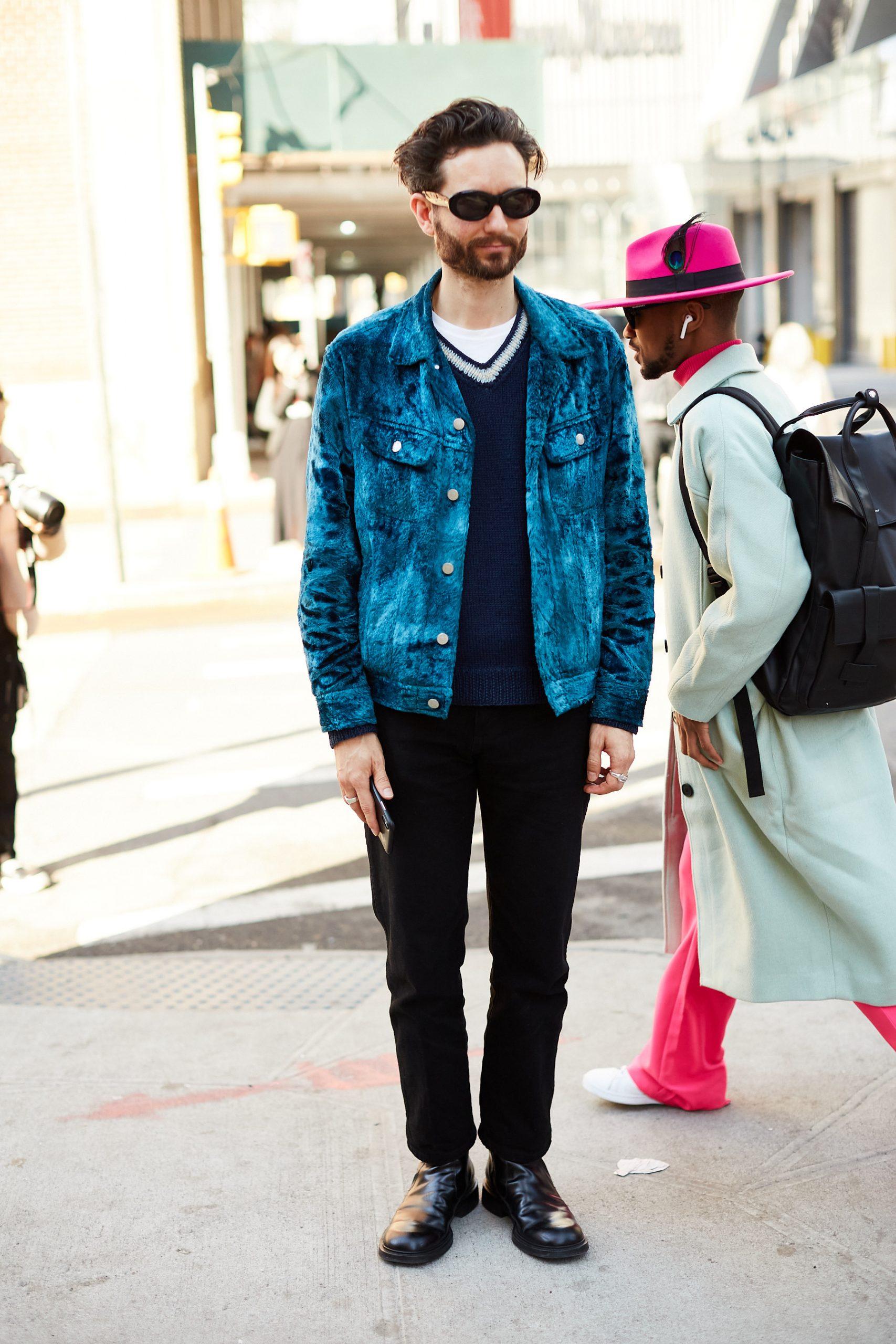 New York Men's Street Style Fall 2020 Day