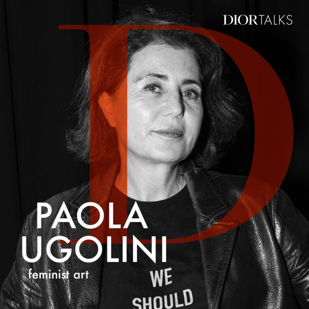 Dior Launches 'Dior Talks' Podcast with Art Critic Paola Ugolini as Next Guest