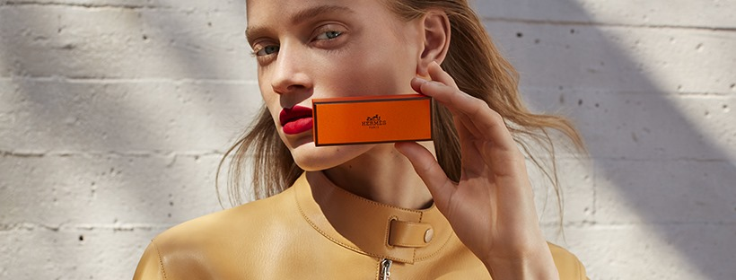 Hermès Beauty Spring 2020 Fashion Ad Campaign Photos