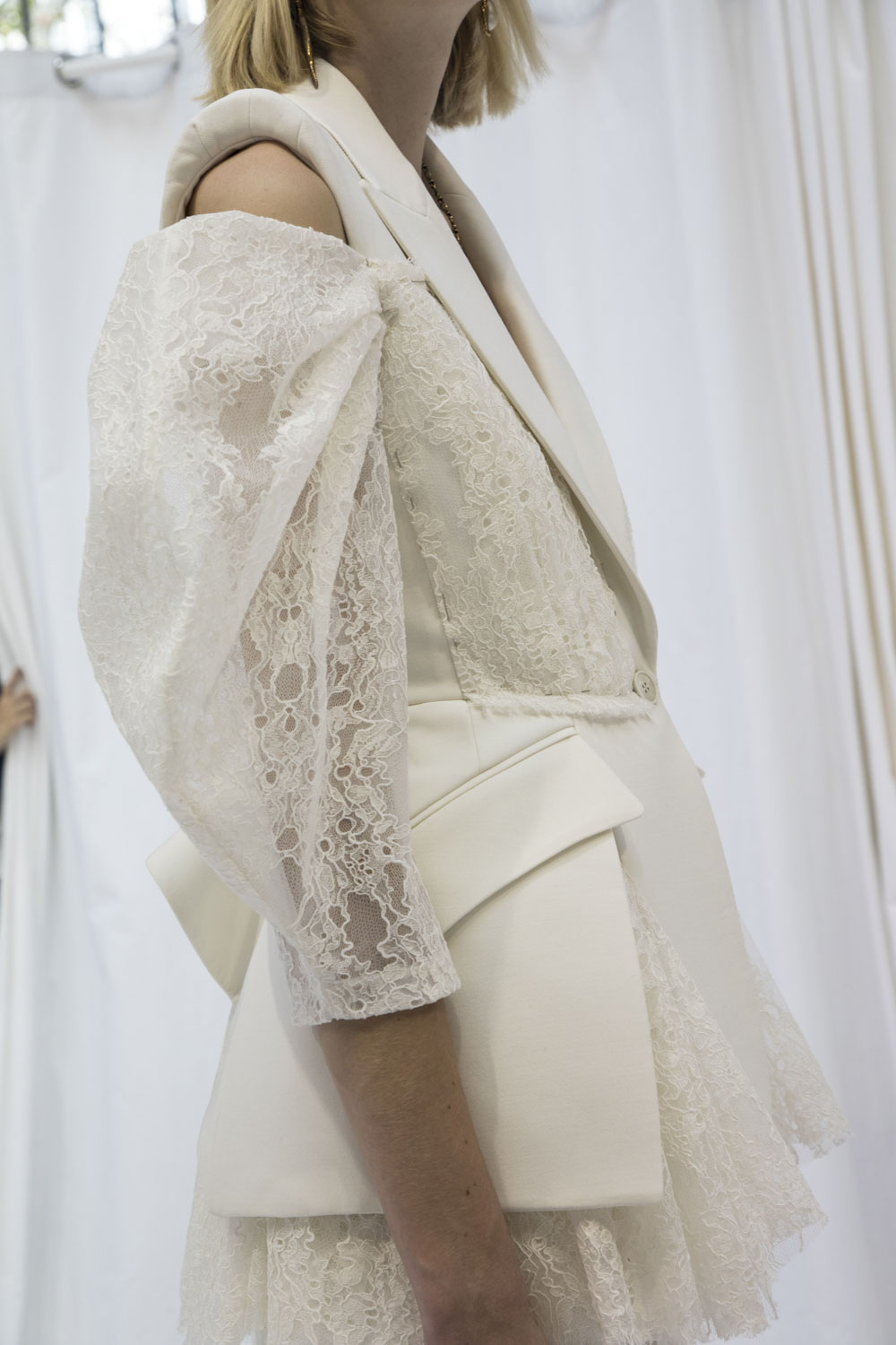 Lace Innovation Fashion Trend by Alexander McQueen