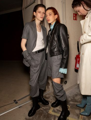 Each X Other Fall 2020 Fashion Show Backstage