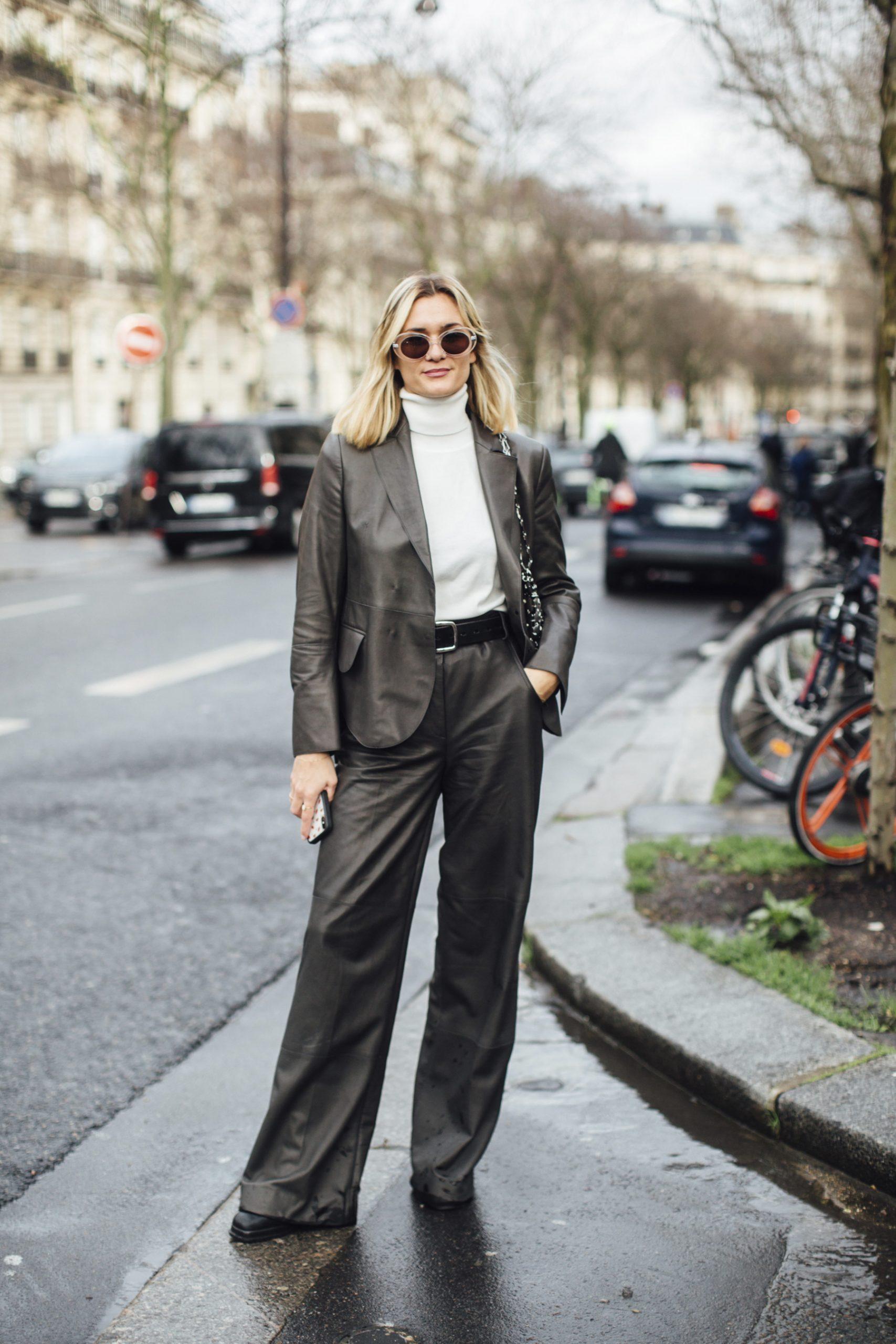 Paris Fashion Week Fall 2020 Street Style Photos