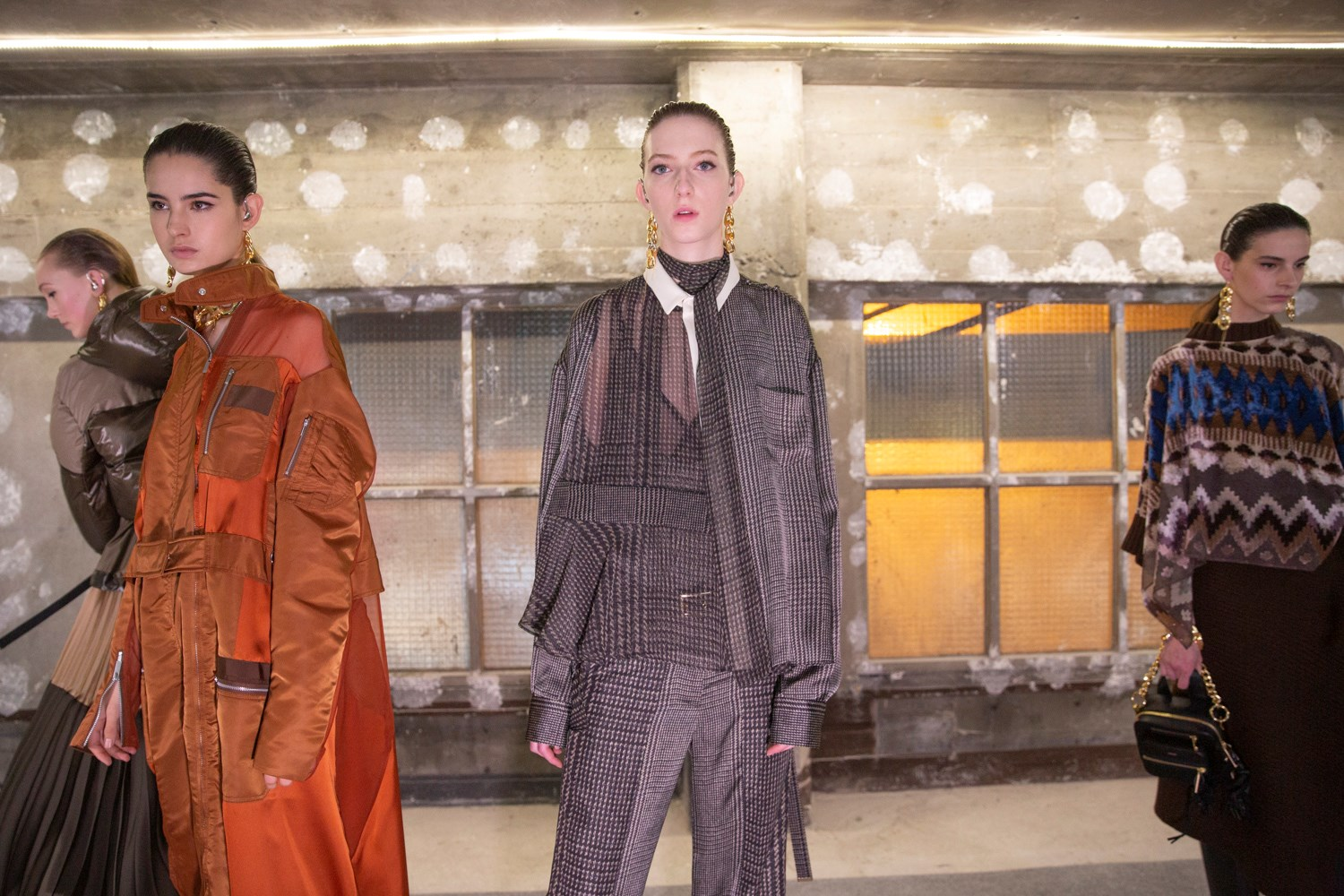 Sacai Fall 2020 Fashion Show Photos